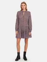 The Great The Timber V-Neck Mini Dress