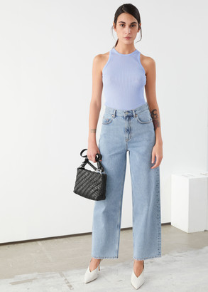 And other stories High Rise Wide Leg Jeans