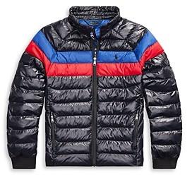 Ralph Lauren Polo Boys' Packable Quilted Jacket - Big Kid