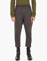 Haider Ackermann Black Perth Oversized Sweatpants