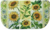 Bacova Sun Worshippers 18-Inch x 30-Inch Memory Foam Slice Kitchen Mat in Yellow