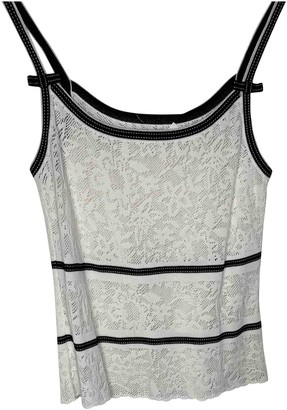 Escada White Lace Top for Women