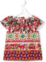 Dolce & Gabbana 'Carretto Con Rose' blouse - kids - Cotton - 10 yrs
