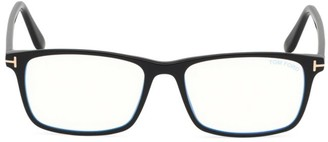 Tom Ford Blue Block 54MM Square Glasses