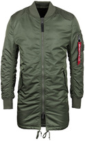 Alpha Industries Ma-1 Sage Green Bomber Coat