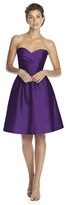 Alfred Sung D542 Bridesmaid Dress in Majestic