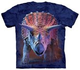 The Mountain Triceratops Charging Kids T-Shirt - Kids