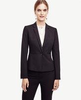 Ann Taylor All-Season Stretch One Button Jacket