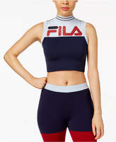 Fila Polly Mock-Neck Cropped Tank Top