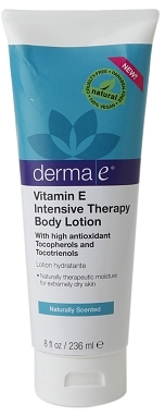 Derma E Vitamin E Intensive Therapy Body Lotion Naturally Scented