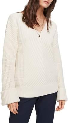 Scotch & Soda Chunky Knit V-Neck Sweater