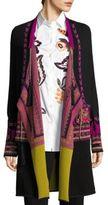 Etro Wool Tassel Coat