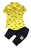 Baby Boys Outfits, TRENDINAO Toddler 2017 Kids Boys Beard T Shirt Tops+Shorts Pants Clothes Set
