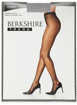 Berkshire Plus Sandalfoot Fishnet Pantyhose
