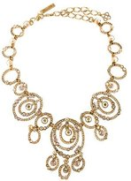Oscar de la Renta Circular Crystal Necklace
