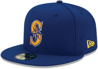 New Era Youth Royal Seattle Mariners Authentic Collection On-Field Alternate 2 59FIFTY Fitted Hat