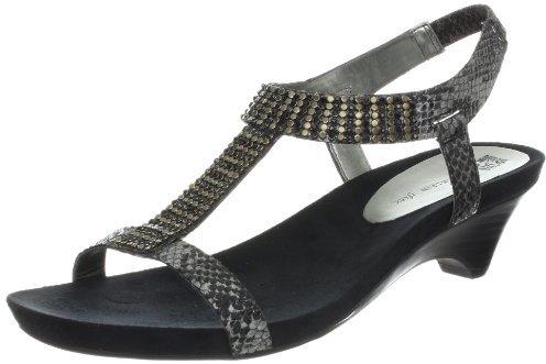 AK Anne Klein Women's Teale Wedge Sandal