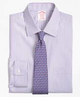 Brooks Brothers Non-Iron Regent Fit Music Stripe Stretch Dress Shirt