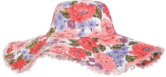 Zimmermann Frayed Floppy Hat