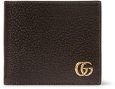 Gucci - Marmont Textured-leather Wallet