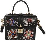 Dolce & Gabbana Dolce Box Fish Crystal Embellished Shoulder Bag