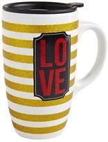 Pier 1 Imports Glitter Love Mug