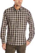 Alex Cannon Men's Long Sleeve Brookside Plaid Shirt