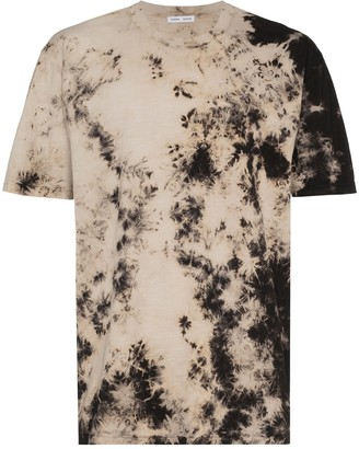 Cmmn Swdn tie-dyed logo print T-shirt