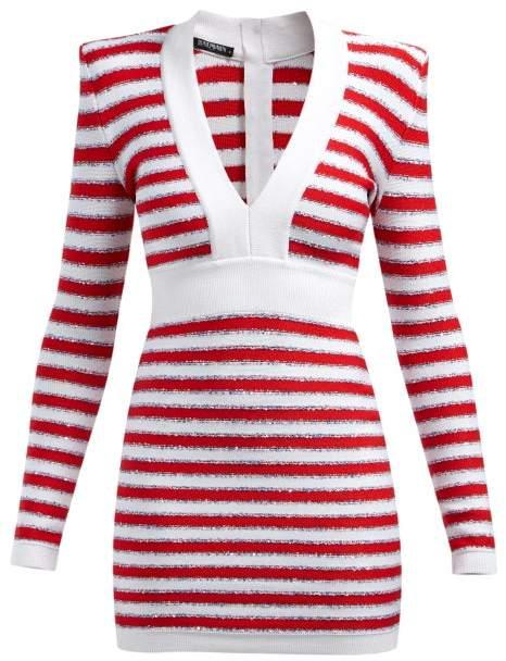 92750b81 Balmain V Neck Dresses - ShopStyle