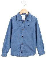 Jacadi Girls' Chambray Button-Up Shirt