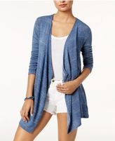 Volcom Juniors' Lived In Go Wrap Draped Cardigan