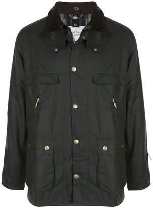 Barbour multiple pocket jacket