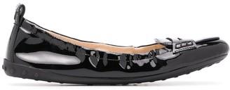 Tod's Penny-Strap Ballerina Flats