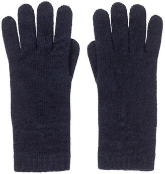 Johnstons of Elgin Womens Cashmere Gloves Navy