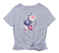 Epic Threads Big Girls Short Sleeve Twist Front Graphic Tee