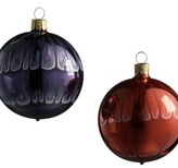 Art Glass Ball Ornament Set