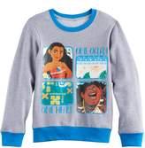 "Disney Disney's Moana Girls 7-16 Moana & Maui ""One Ocean One Heart"" Pullover Sweatshirt"