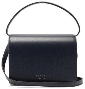 Tsatsas Malva 4 Grained-leather Bag - Navy