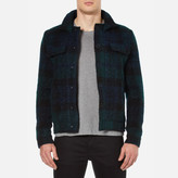 Carven Checked Blouson Jacket Multicolore