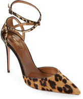 Aquazzura Leopard Print Very Deena Pointed Toe Pumps