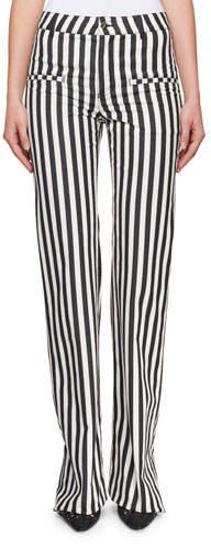 Altuzarra Jacques Low-Rise Striped Straight-Leg Pants