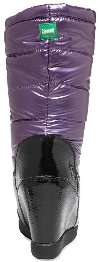 Cougar Women's Gander Faux-Fur Wedge Boots