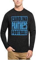 '47 Men's Carolina Panthers Compton Club Long-Sleeve T-Shirt