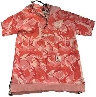 A Bathing Ape Pink Cotton Tops
