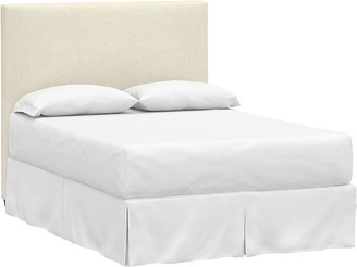 Pottery Barn Kids Raleigh Upholstered Square Bed & Headboard