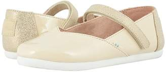 Toms Kids Keesha (Little Kid/Big Kid) (Natural Patent Synthetic) Girl's Shoes