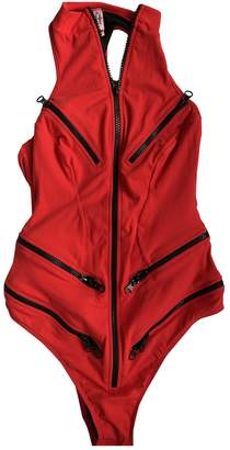 Agent Provocateur Red Synthetic Swimwear