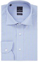 Daniel Hechter Fine Check Tailored Shirt, Blue