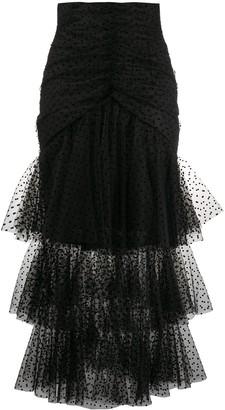 Philosophy di Lorenzo Serafini High Waisted Layered Tulle Skirt