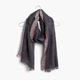 Madewell Quiltweave Stitched Scarf